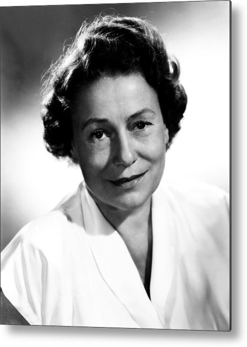 1950s Portraits Metal Print featuring the photograph Thelma Ritter, Ca. Mid-1950s by Everett