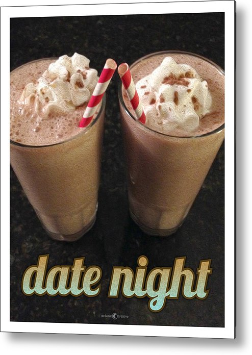 Malts Metal Print featuring the photograph Date Night by Tim Nyberg