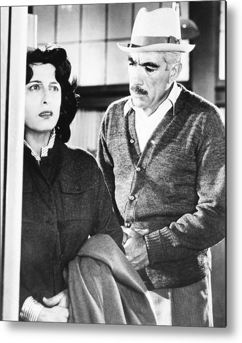 1957 Movies Metal Print featuring the photograph Wild Is The Wind, From Left Anna by Everett