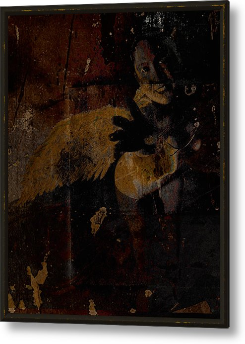 Photo Metal Print featuring the photograph Almost An Angel by Adam Kissel