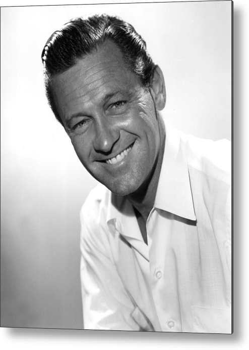 1950s Movies Metal Print featuring the photograph Picnic, William Holden, 1955 by Everett