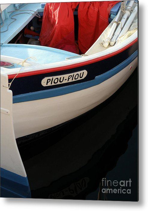 Boat Metal Print featuring the photograph Piou - Piou by Lainie Wrightson