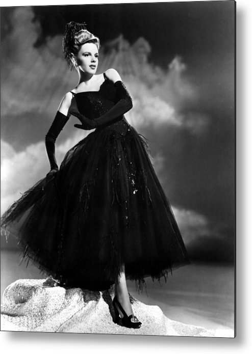 1940s Movies Metal Print featuring the photograph Presenting Lily Mars, Judy Garland, 1943 by Everett