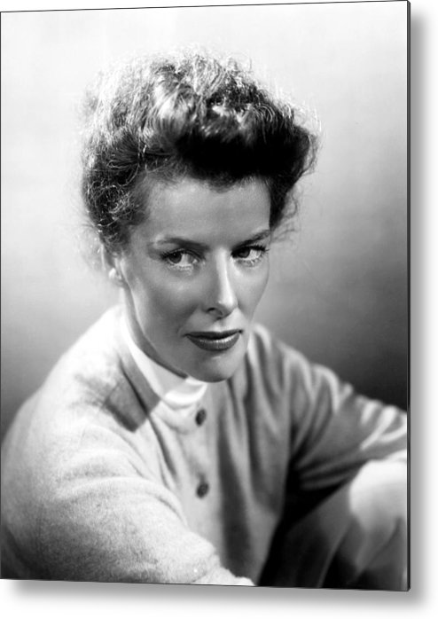 1950s Portraits Metal Print featuring the photograph Summertime, Katharine Hepburn, 1955 by Everett