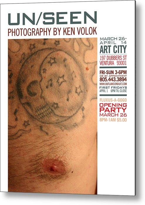 Volok Metal Print featuring the photograph Unseen Photography by Ken Volok