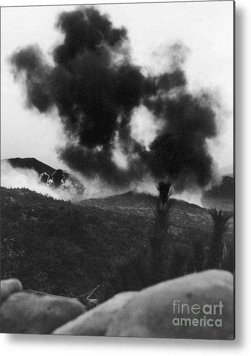 1952 Metal Print featuring the photograph Korean War: Bunker Hill by Granger