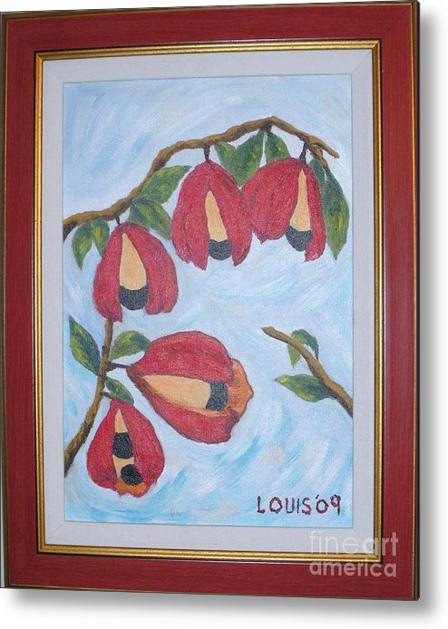 Jamaica Metal Print featuring the painting Ackee Season by Louis Stephenson