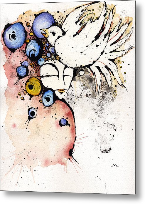 Dear Prudence Metal Print featuring the painting Dear Prudence.... by Mark M Mellon