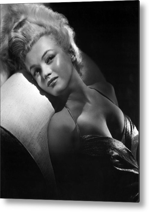 1950s Portraits Metal Print featuring the photograph Marilyn Monroe, Ca. Early 1950s by Everett