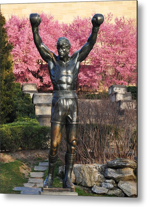 Rocky In Spring Metal Print featuring the photograph Rocky In Spring by Bill Cannon