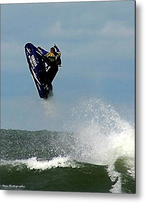 Watersports Metal Print featuring the photograph Wave Jumper by Vincent Duis