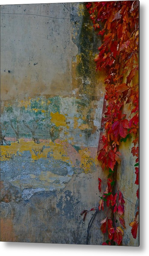 Old Wall Metal Print featuring the photograph Ancient Wall by Dorota Nowak