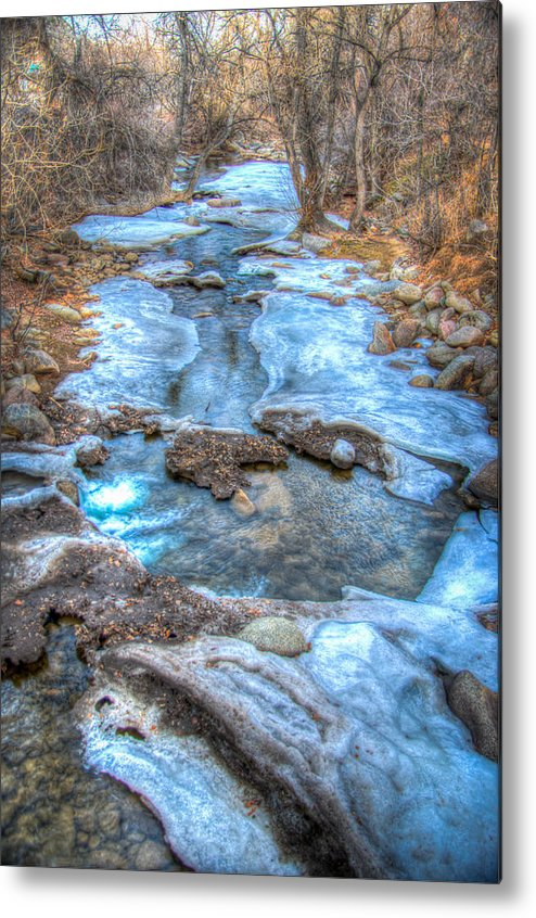 Creek Metal Print featuring the photograph Boulder Creek by Will Wagner