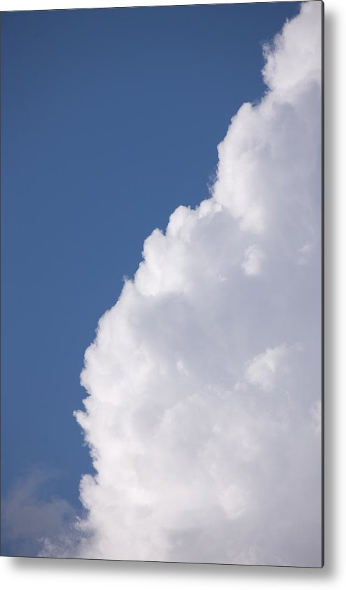 Cumulus Congestus Metal Print featuring the photograph Clouds by Bernard Lynch