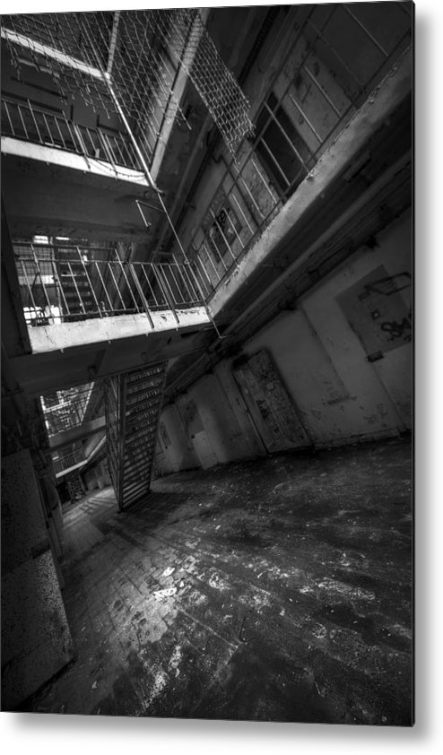 Metal Print featuring the photograph H15 by Jason Green