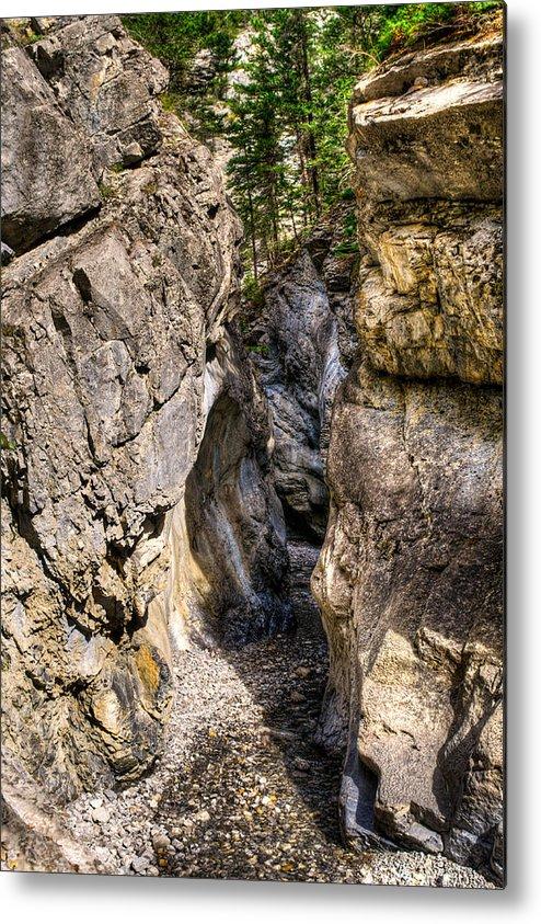 Alberta Metal Print featuring the photograph Jura Canyon by Brandon Smith