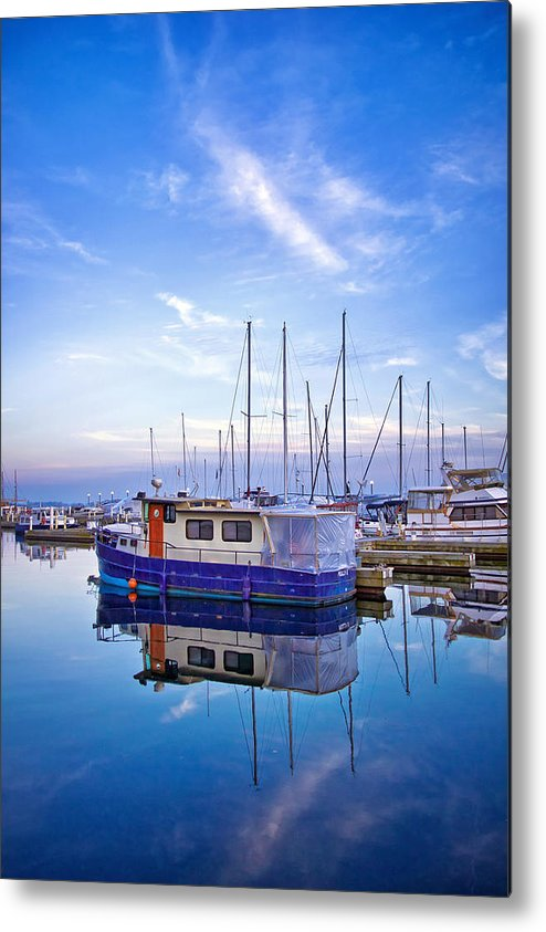 Canada Metal Print featuring the photograph Reflection by Aqnus Febriyant