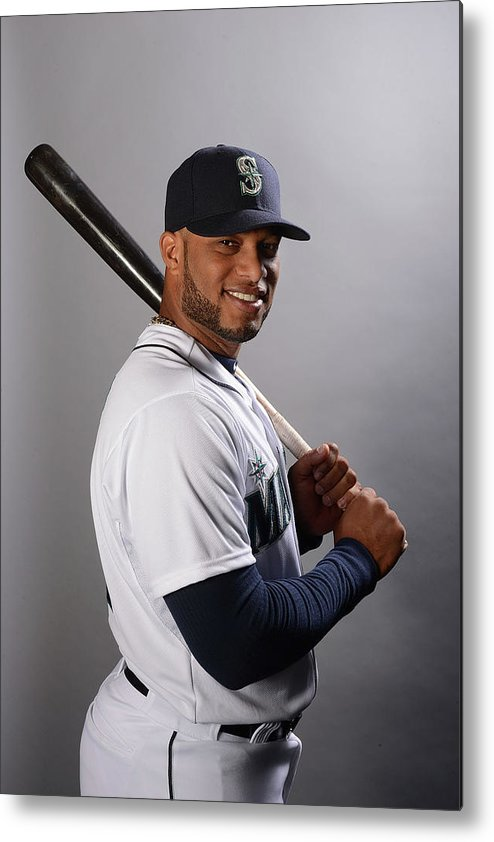 Media Day Metal Print featuring the photograph Seattle Mariners Photo Day by Norm Hall