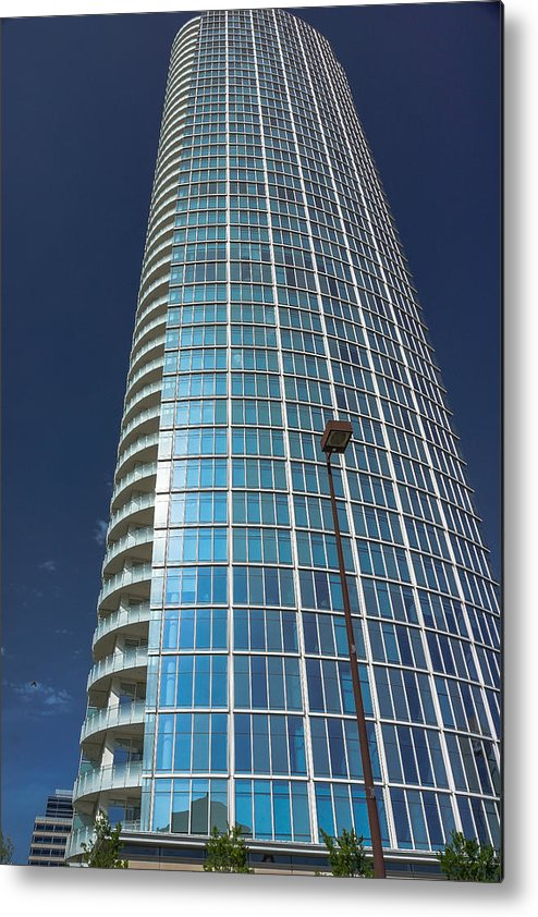 Landscapes Metal Print featuring the photograph Skyscrapper by Tinjoe Mbugus