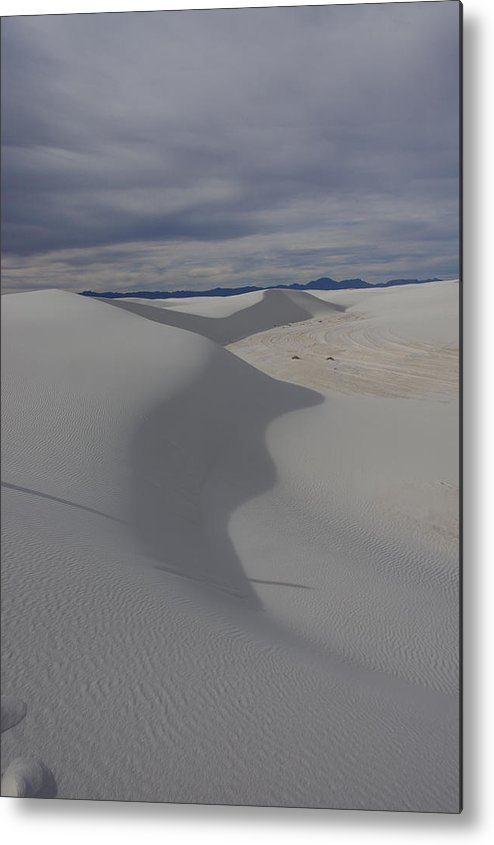 White Sands National Monument Metal Print featuring the photograph Soft by JL Griffis