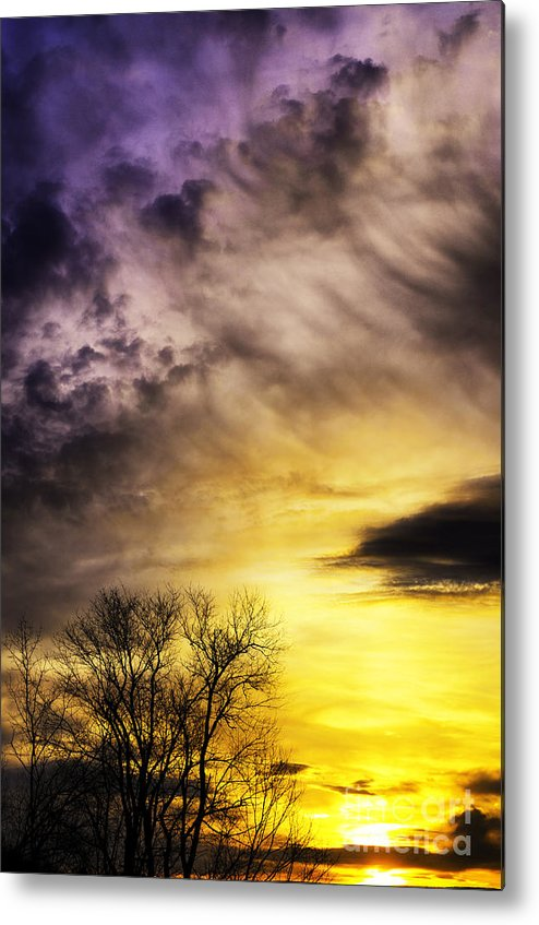 Sunrise Metal Print featuring the photograph Spring Sunrise by Thomas R Fletcher