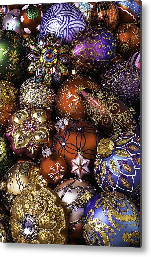 Christmas Metal Print featuring the photograph The Beauty Of Christmas by Garry Gay