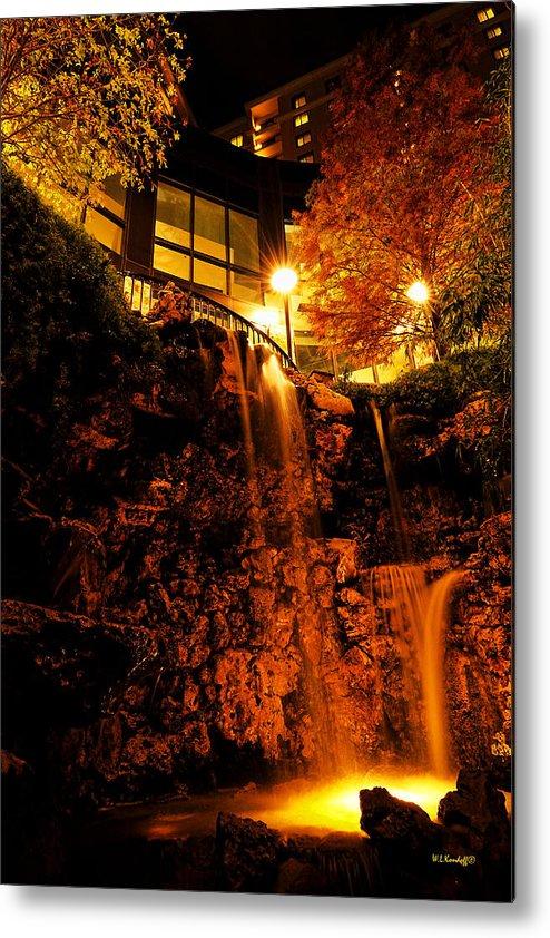 Waterfall Metal Print featuring the photograph Waterfall by Wayne Kondoff