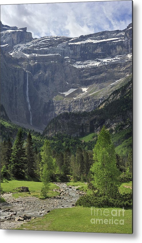 Cirque De Gavarnie Metal Print featuring the photograph 120520p190 by Arterra Picture Library