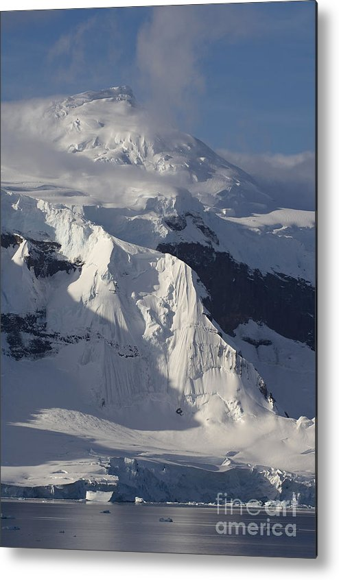 Glacier Metal Print featuring the photograph Antarctica by John Shaw