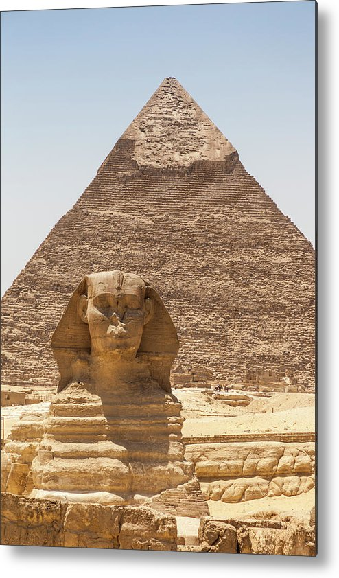 Mg8666 Metal Print featuring the photograph Travel Images Of Egypt by Mel Longhurst
