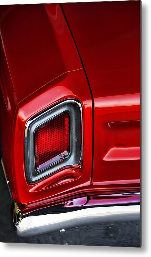 Metal Print featuring the photograph 1969 Plymouth Road Runner by Gordon Dean II