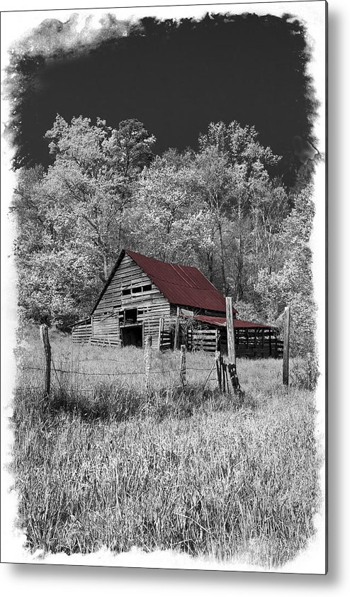 Appalachia Metal Print featuring the photograph Big Red by Debra and Dave Vanderlaan