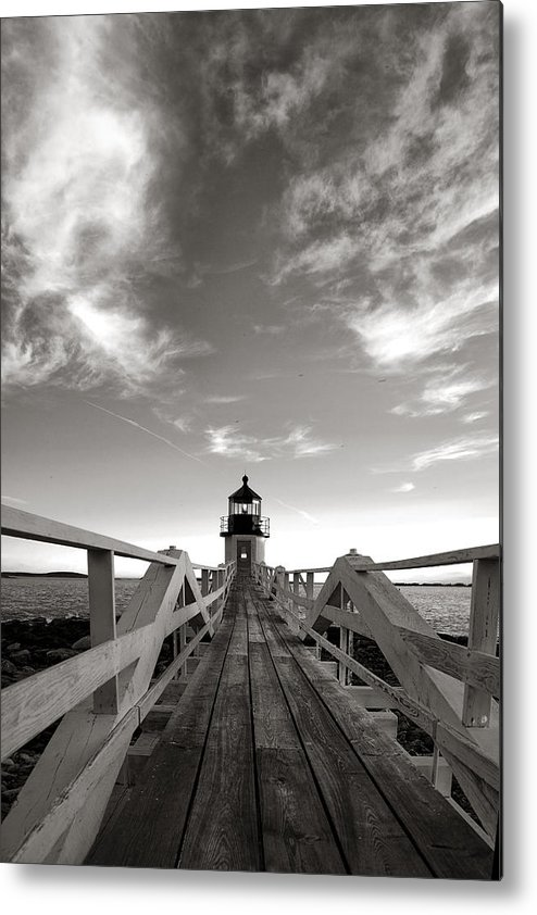 Main Metal Print featuring the photograph Marshall Point Light by Diana Powell