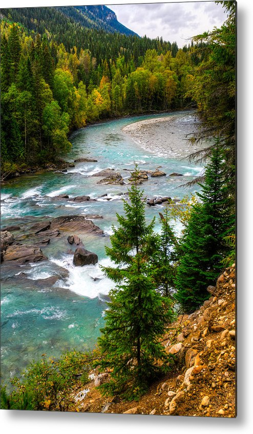 British Columbia Metal Print featuring the photograph River Views by Brandon Smith