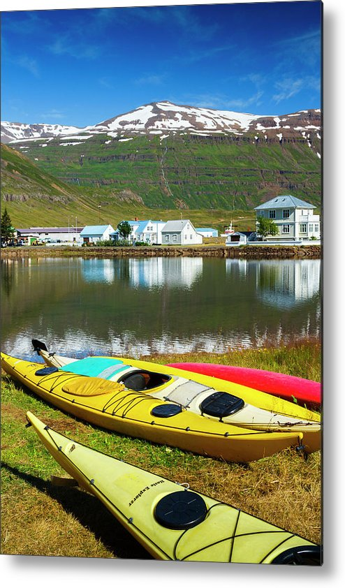 East Fjords Metal Print featuring the photograph Iceland by Mikel Bilbao