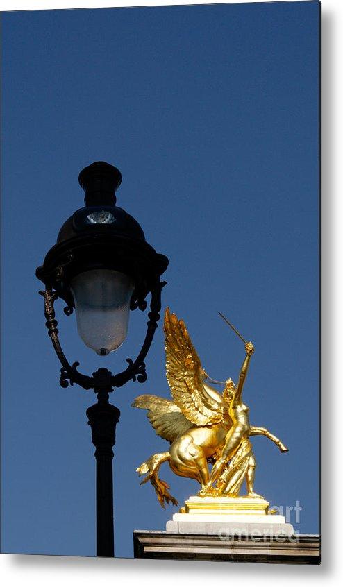 Paris Metal Print featuring the photograph Pont Alexandre IIi Paris by Colin Woods