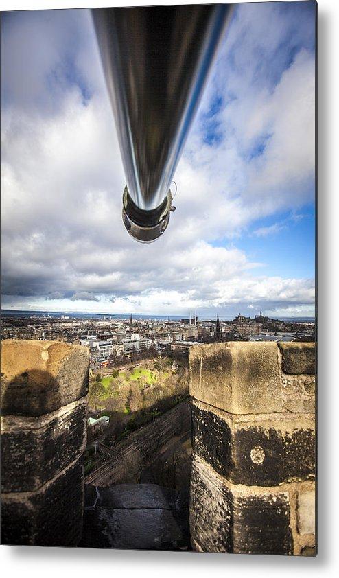 Edinburgh Metal Print featuring the photograph Edinburgh by Michael Schofield