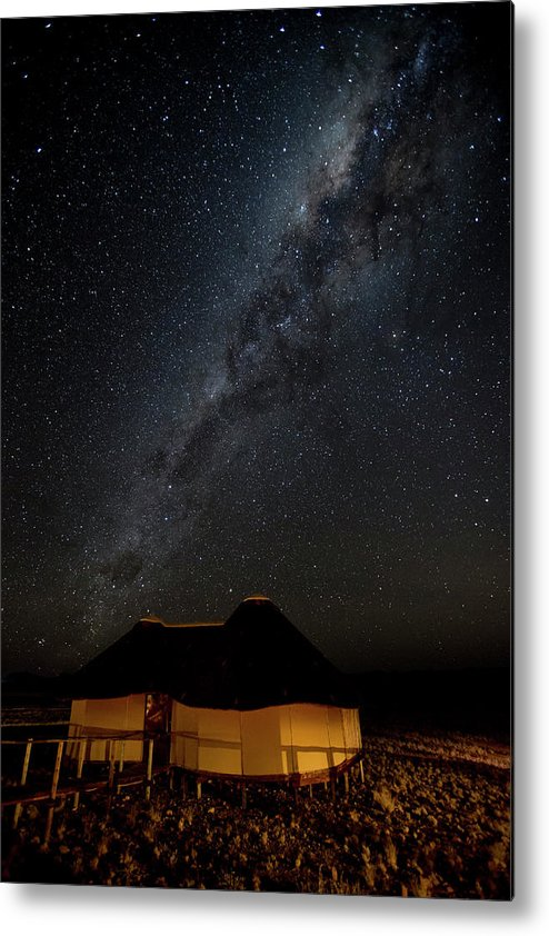 Accommodation Metal Print featuring the photograph Africa, Namibia, Namib-naukluft Park by Jaynes Gallery