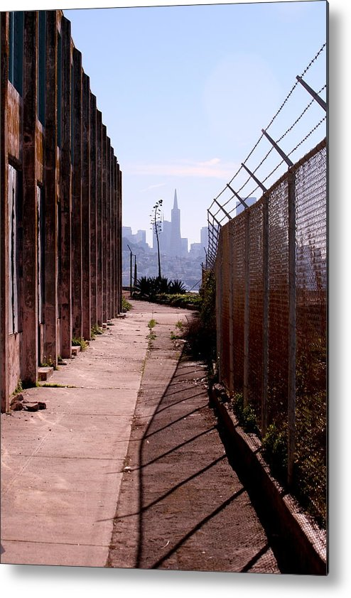 California Metal Print featuring the photograph A Limited View by Nick Busselman