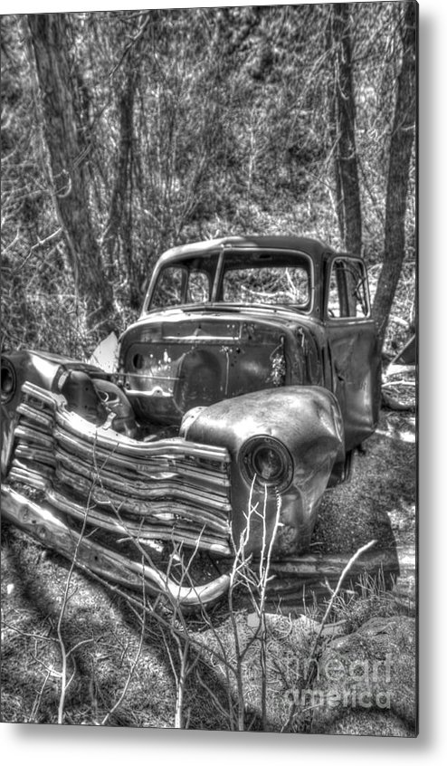 49 Metal Print featuring the photograph Abandoned by Earl Nelson