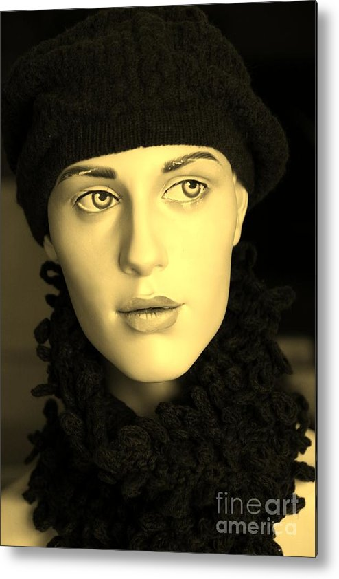 Face Metal Print featuring the photograph Adele 3 by Sophie Vigneault