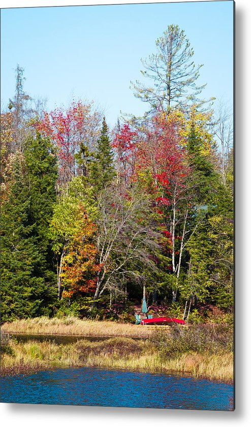Adirondack's Metal Print featuring the photograph Adirondack Color II by David Patterson