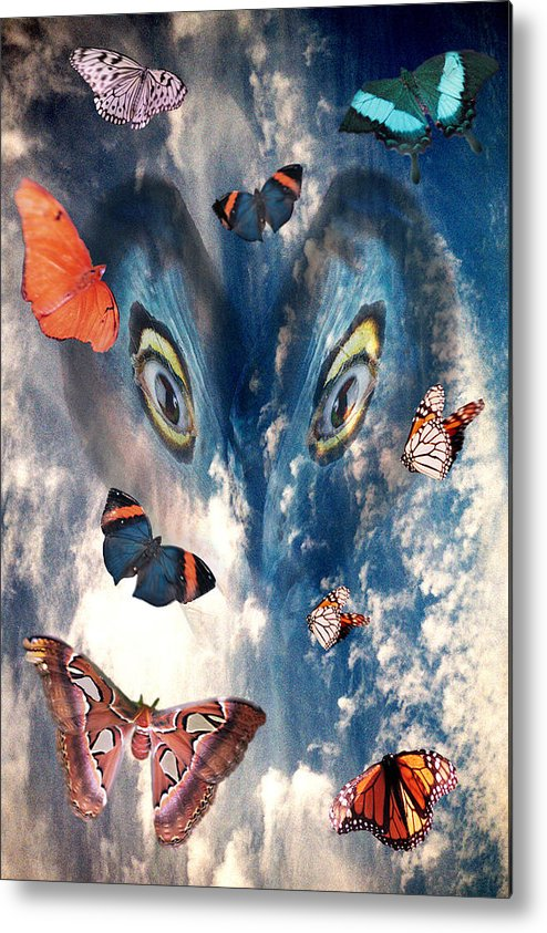 Air Metal Print featuring the digital art Air by Lisa Yount