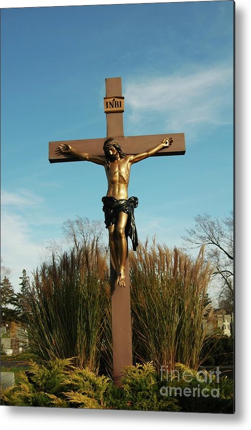 Jesus Metal Print featuring the photograph Amazing Love by Kathleen Struckle