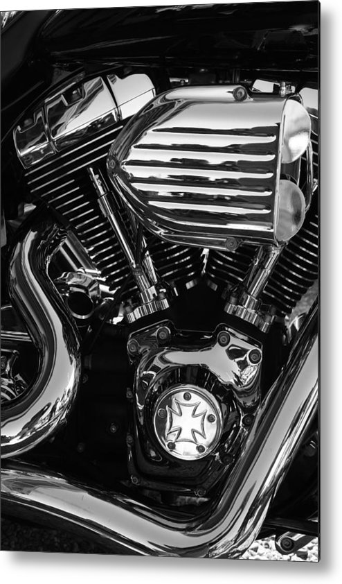 American Metal Print featuring the photograph American Icon. by Ian Ramsay