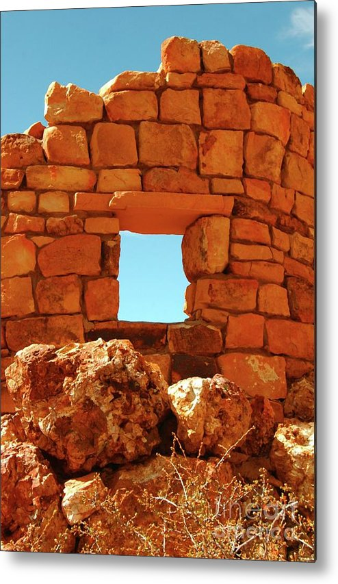 Angel's.window Metal Print featuring the photograph Angel's Window by Kathleen Struckle