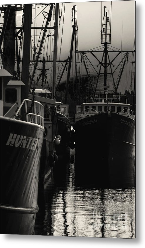 Black Metal Print featuring the photograph Antsy by Joe Geraci