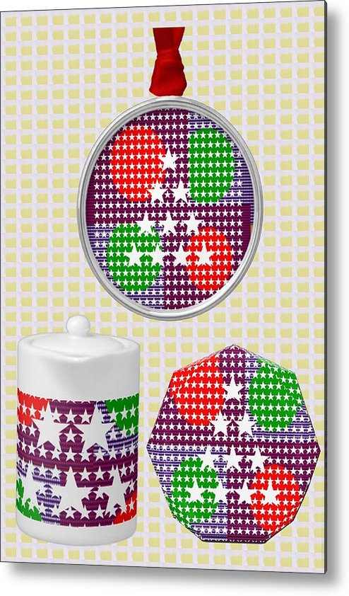 Art On Gifts Metal Print featuring the mixed media Art On Gifts Pod Products Ornaments Tea Cup Award Reward Grant Appreciation Acknowledgement Meeting by Navin Joshi