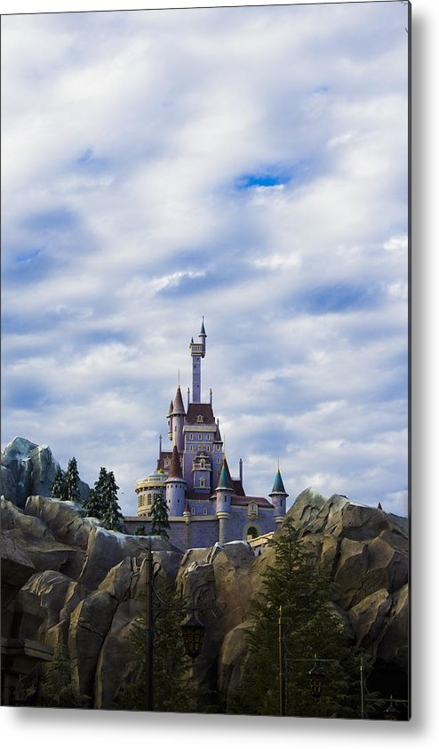 Beauty Metal Print featuring the photograph Beast Castle by Tiffany Zumbrun