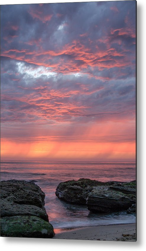 America Metal Print featuring the photograph Bermuda Avenue Sunset Three by Josh Whalen